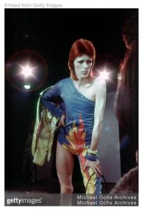 Figure 1: David Bowie as Ziggy Stardust
